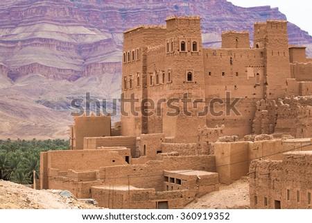 Maroko Ksar #360919352