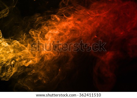 Smoke texture red and orange color pattern #362411510