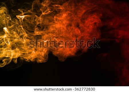 Smoke texture red and orange color pattern #362772830