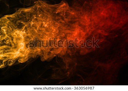 Smoke texture red and orange color pattern #363056987