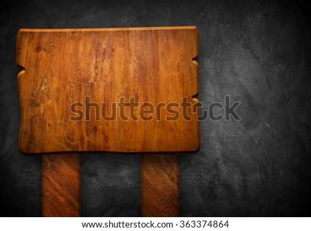 wood sign #363374864