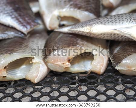 Sun-dried fish #363799250