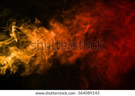 Smoke texture red and orange color pattern #364089143