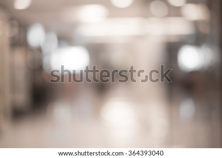 Blur image  business center #364393040