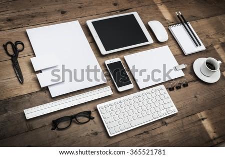 Letterhead and identity design template #365521781