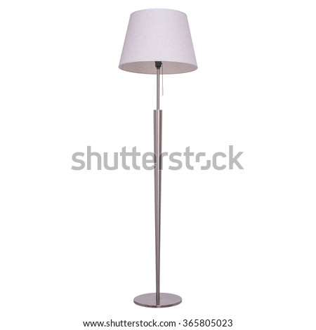 Floor lamp, isolated on white background. #365805023
