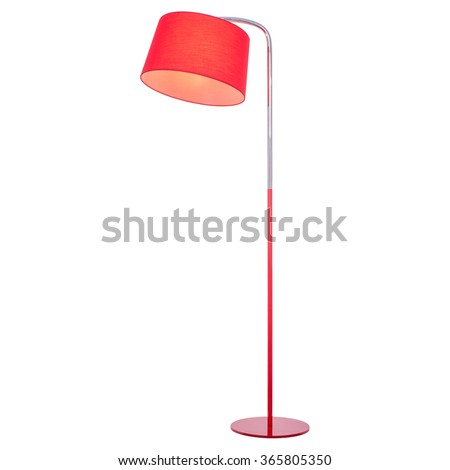 Floor lamp, isolated on white background. #365805350