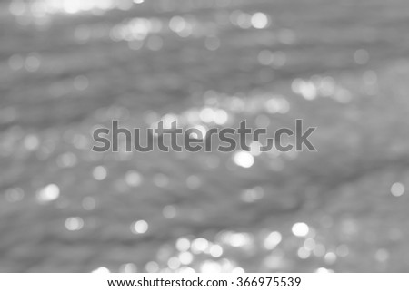 beautiful bokeh background from the wave of water #366975539