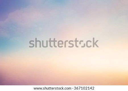 blurred art glamour natural landscape background with ray flare light concept.