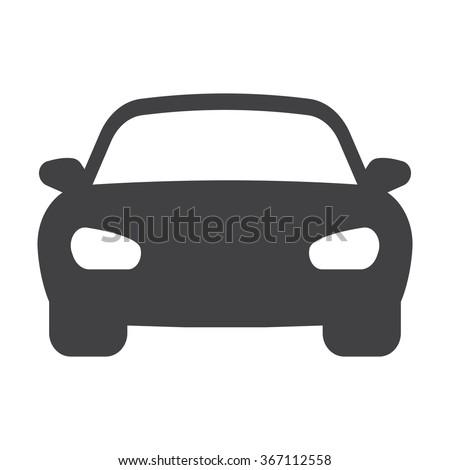 Car icon.  Royalty-Free Stock Photo #367112558