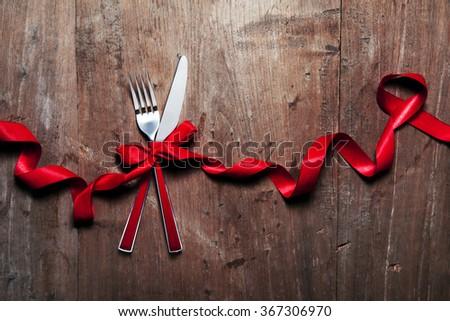 cutlery Valentine's Day #367306970