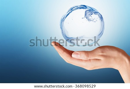 Water. Royalty-Free Stock Photo #368098529