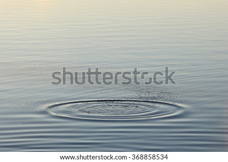 water ripple on lake #368858534
