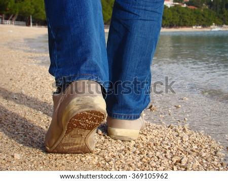 Walking Royalty-Free Stock Photo #369105962