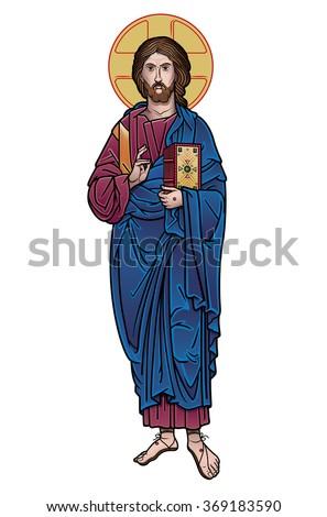 Jesus Christ icon color
