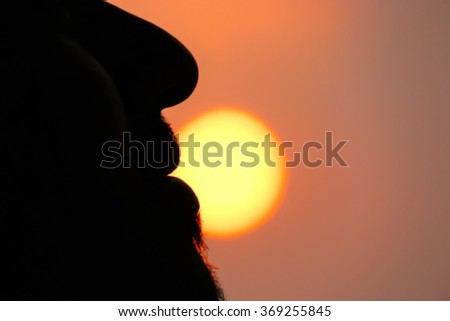 Front of the sun #369255845
