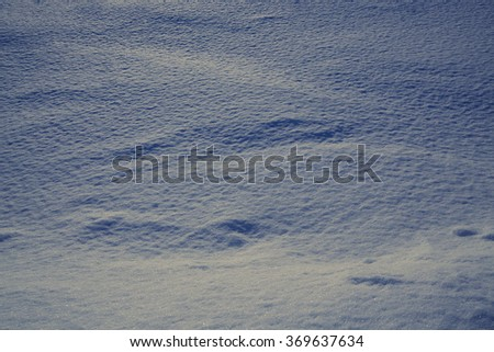 Abstract background of snow #369637634
