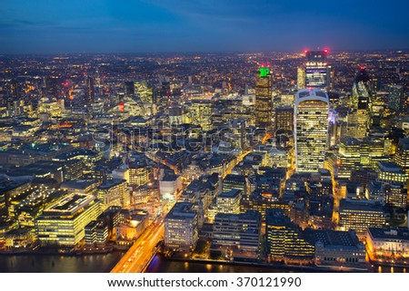 Business office building in London, England #370121990