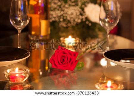 Romantic date night.  #370126433