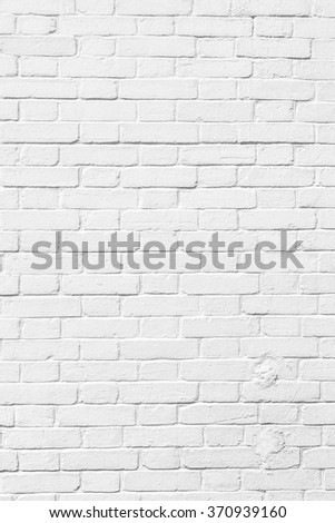 White brick wall for texture or background #370939160