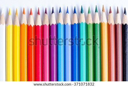Straight Crayon #371071832