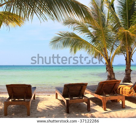 Relaxation on the beach #37122286