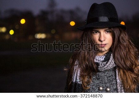 Girl in dark #372148870