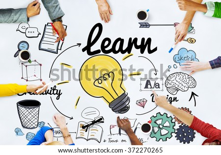 Learn Learning Education Knowledge Wisdom Studying Concept #372270265
