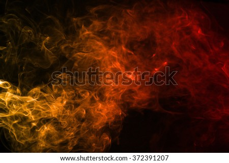 Smoke texture red and orange color pattern #372391207