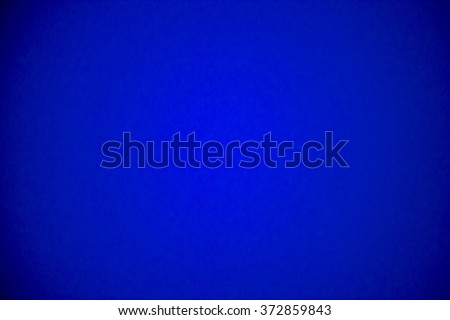 Gradient glowing royal blue background, bright saturated color, soft focus. Royalty-Free Stock Photo #372859843