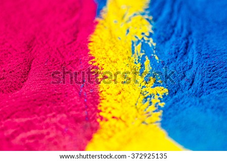 CMYK colour toner for printer cyan magenta yellow  #372925135