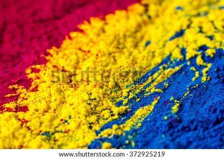 CMYK colour toner for printer cyan magenta yellow  #372925219