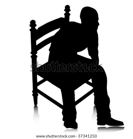 man on chair #37341250