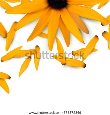 vector flower illustration #373572346