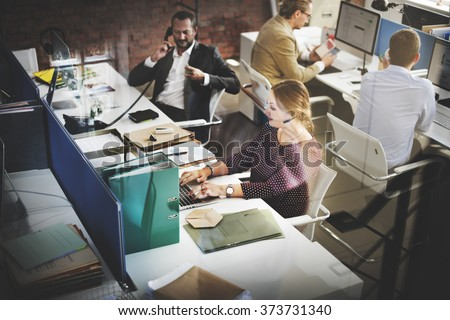 Customer Service Team Support Care Concept Royalty-Free Stock Photo #373731340