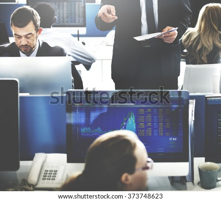 Business Team Investment Entrepreneur Trading Concept #373748623