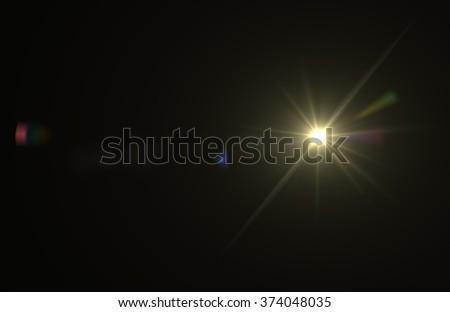 Beautiful abstract Sun glare or flare. #374048035