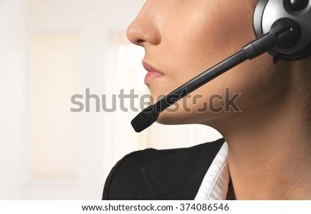 Call Center. #374086546