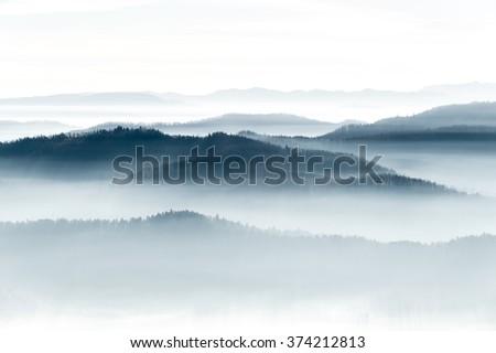Mountains on the horizon  #374212813