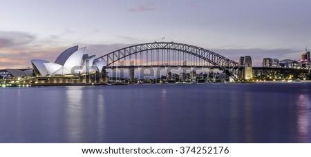Sydney Harbour Royalty-Free Stock Photo #374252176