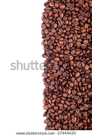 Background of coffee bean #37444420