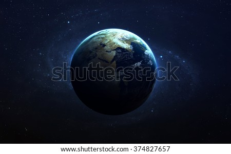 Planet Earth. This image elements furnished by NASA Royalty-Free Stock Photo #374827657