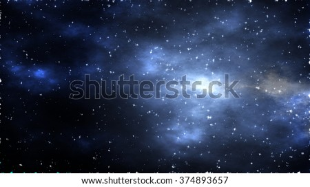 Deep Space - Starfield - Universe - Abstract Space Background #374893657