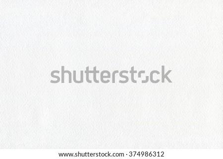 Hi-res watercolor paper texture background. White watercolor paper texture to display your artworks. #374986312