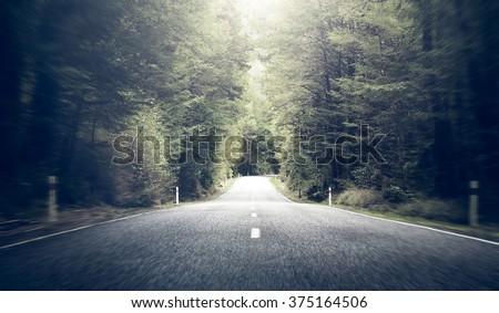 Road Travel Journey Nature Scenics Concept Royalty-Free Stock Photo #375164506