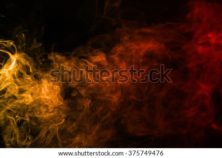 Smoke texture red and orange color pattern #375749476