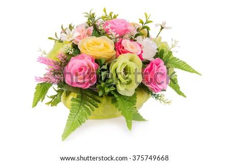 Plastic flower for decoration. #375749668