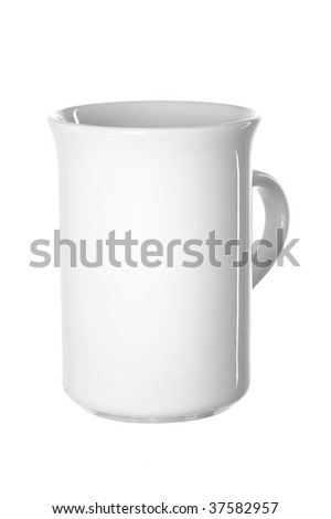 Slim cup on a white backgrounds #37582957