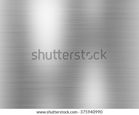 metal, stainless steel texture background with reflection #375940990