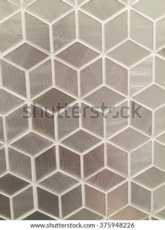 Texture background cubic pattern are grey colour #375948226